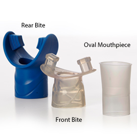 Bite-on and Oval mouthpieces